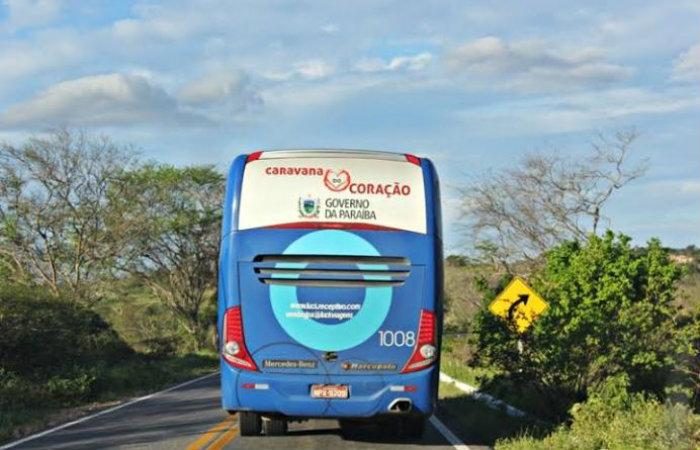 Caravana de médicos irá visitar 13 cidades da Paraíba, atendendo crianças e mulheres grávidas. Foto: Divulgação