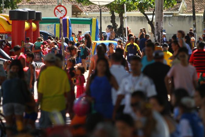 Expectativa é de que cinco mil pessoas tenham passado pelo local na primeira edição do projeto. Foto: Peu Ricardo/DP