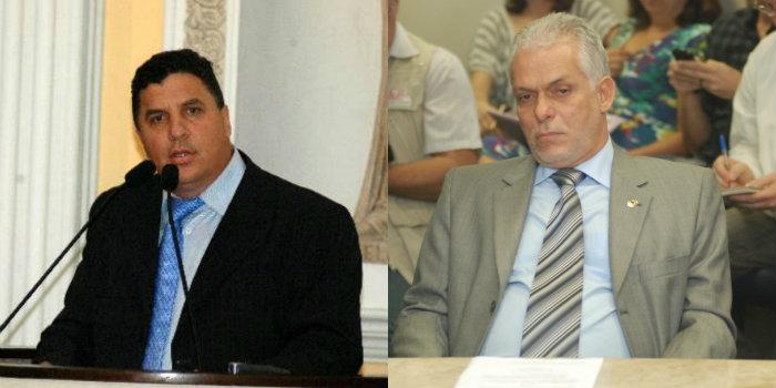Pastor Cleiton Collins deve assumir a presidência da Alepe e Sérgio Leite, o lugar na vaga de deputado. Fotos: Arquivos/DP