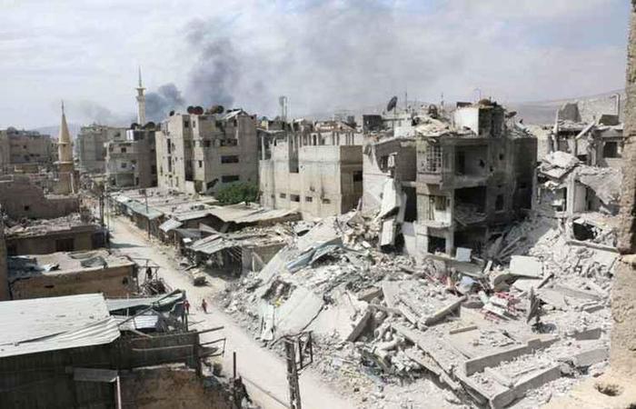 A Síria passa por uma guerra que assola o país há 7 anos (Foto: Moaiad Al Dirane/Divulgacao)