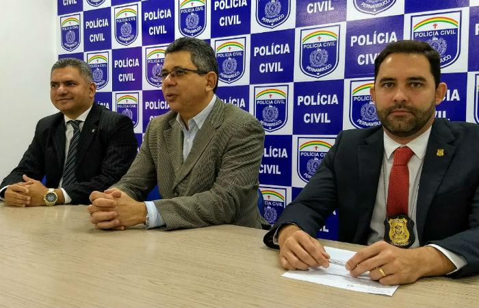 Polícia Civil divulgou detalhes da operação nesta quarta-feira Foto: Polícia Civil / Divulgação