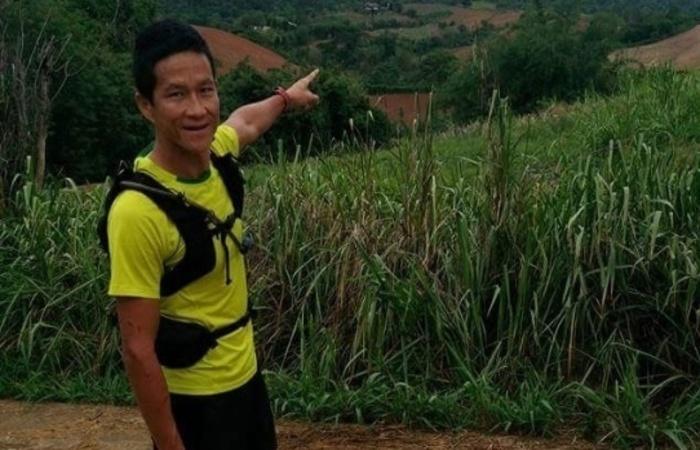 O corpo de Kunan foi levado para a cidade de Sattahip, no sudeste, onde ocorrerá o funeral. Foto: Reprodução/Facebook