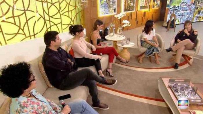 Atriz foi uma das convidadas do Encontro com Fátima Bernardes (foto: TV Globo/Reprodução)