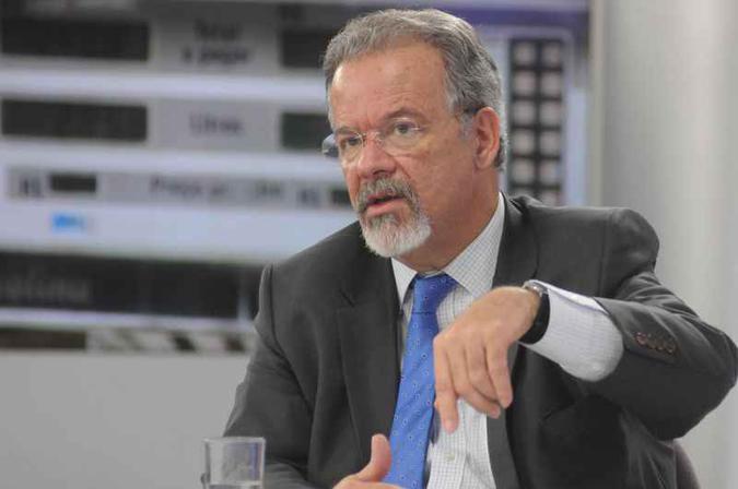 """Raul Jungmann, ministro da Segurança Pública: """"Não é só que o estado não quer disponibilizar os dados, é que ele não tem, não digitalizou, não estruturou, não organizou"""" (foto: Antonio Cunha/CB/D.A Press - 30/5/18)"""