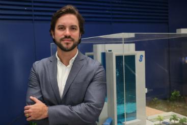Marcelo Vieira - Diretor administrativo do Hospital Santa Joana Recife (Gabriel Melo/Esp. DP)