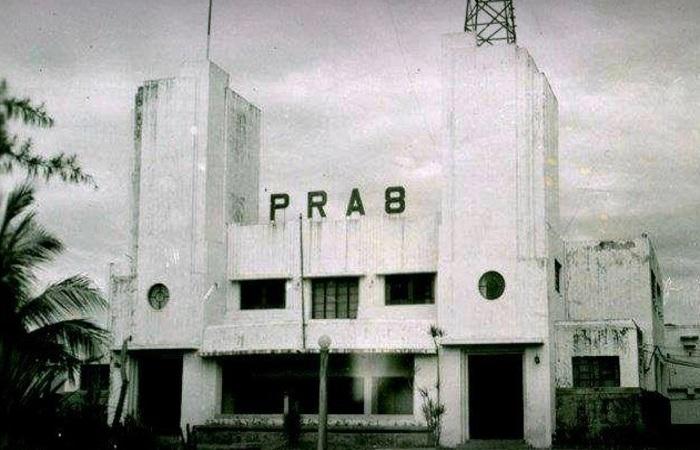 Prédio histórico da Radio Clube, a pioneira, a PRA-8 Foto: Arquivo Nacional