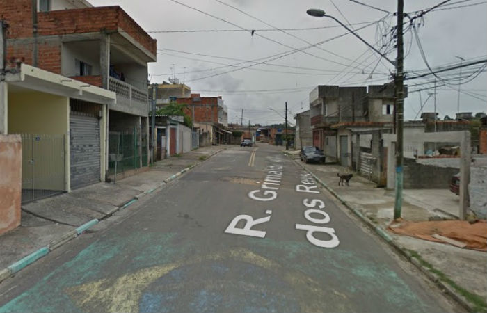 Crime foi registrado na Rua Grimaldo Bonfim dos Reis Foto: Google Street View / Divulgação