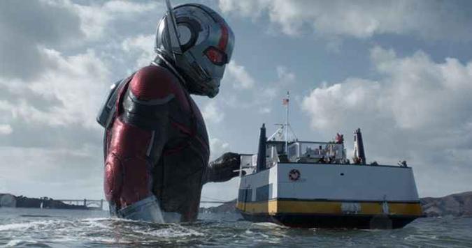 Heróis pequenos, bilheterias gigantes (foto: Marvel Studios 2018/Divulgação)