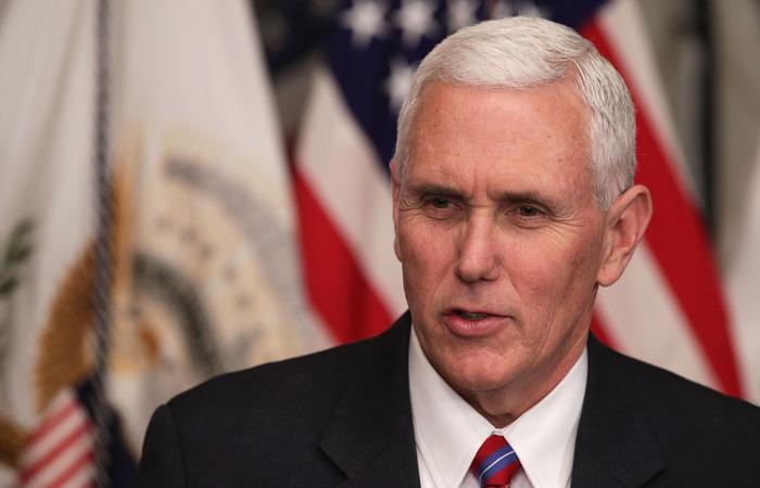 Mike Pence, vice-presidente dos Estados Unidos (Foto: Alex Wong/AFP)
