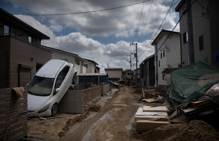 Governo também informou sobre pelo menos 10 desaparecidos. Foto: MARTIN BUREAU / AFP
