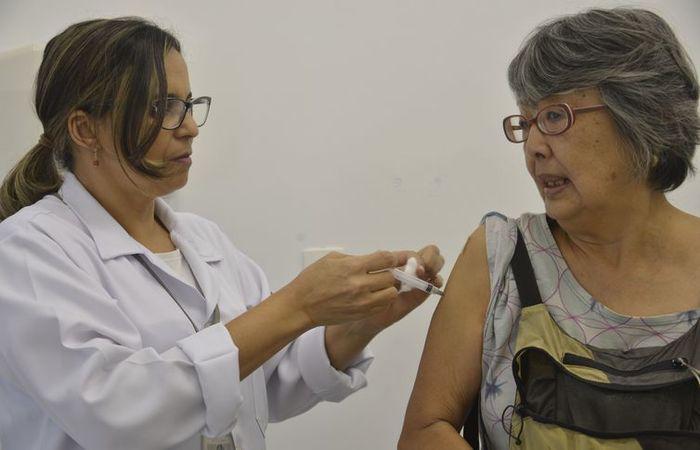 Sociedade Brasileira de Imunizações defende uma taxa de imunização de 95% do público-alvo. Foto: Arquivo/Agência Brasil