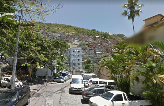 Comunidade do Pavão-Pavãozinho Foto: Google Street View / Reprodução
