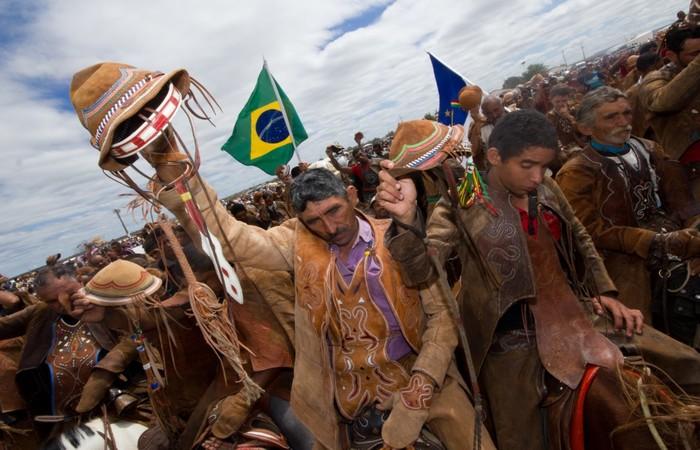 Vaqueiros de todos os municípios sertanejos se reúnem na celebração. Foto: Divulgação
