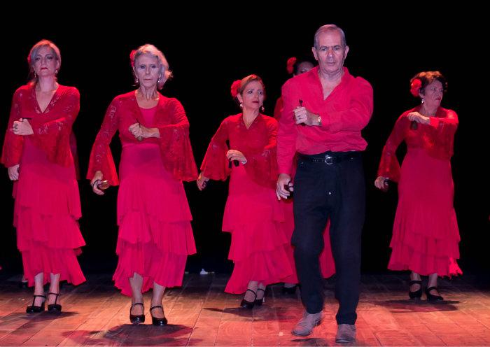 Grupo Essência Flamenca apresenta pela segunda vez o espetáculo Compasso, no Teatro Barreto Júnior. Foto: Divulgação