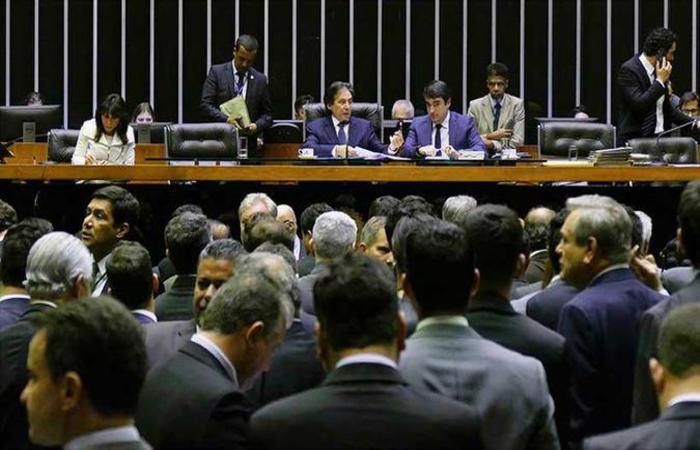 Votação em plenário da LDO 2019. Foto: Roque de Sá/Agência Senado