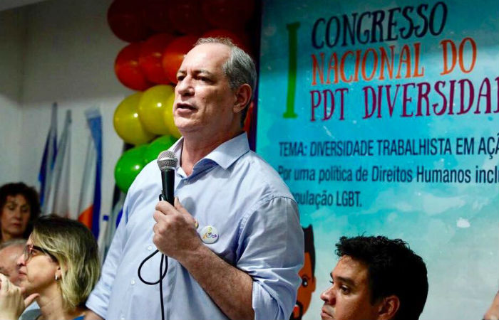 A ideia surgiu como uma forma de fortalecer a base parlamentar de Ciro Gomes Foto: Ciro Gomes / Facebook