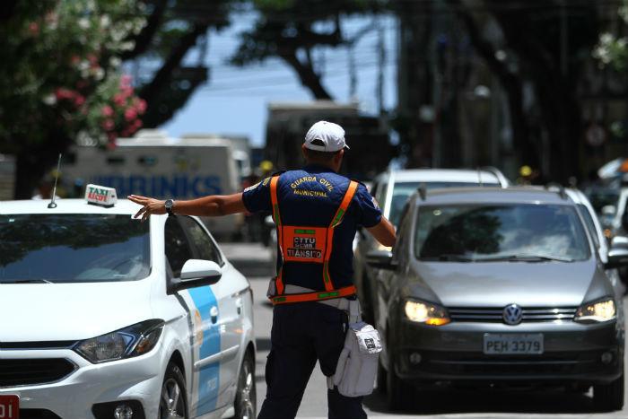 Agentes vão orientar motoristas nos acessos a eventos. Foto: Peu Ricardo/DP.