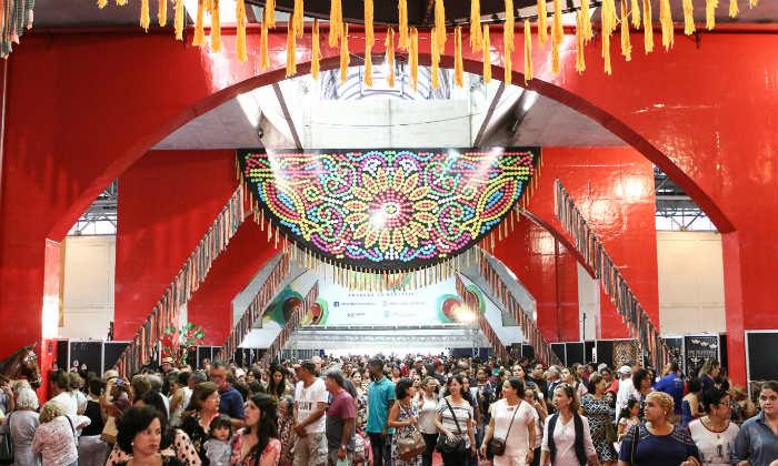 Organização da feira espera grande público neste 12º dia de evento (Simone Medeiros/Divulgação Fenearte)