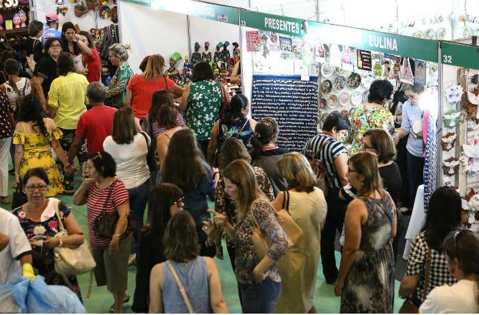 Maior feira de artesanato da América Latina encerra 2018 com grandes números (Arthur Mota/Divulgação)