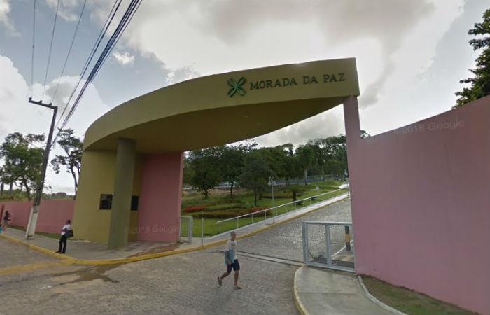 Cemitério Morada da Paz Foto: Google Street View / Reprodução