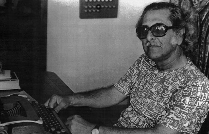 Ator, crítico, ensaísta, autor, encenador e professor, o teatrólogo nascido no Engenho Verde, no município de Palmares, Mata Sul do estado. Foto: Acervo