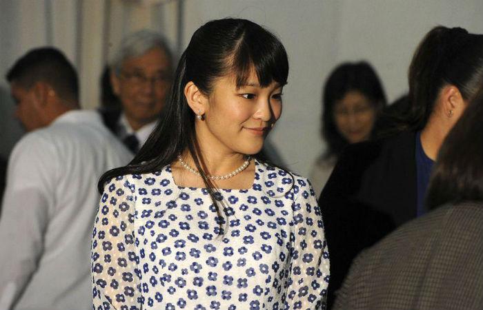 Princesa Mako Foto: AFP / END / Arquivo
