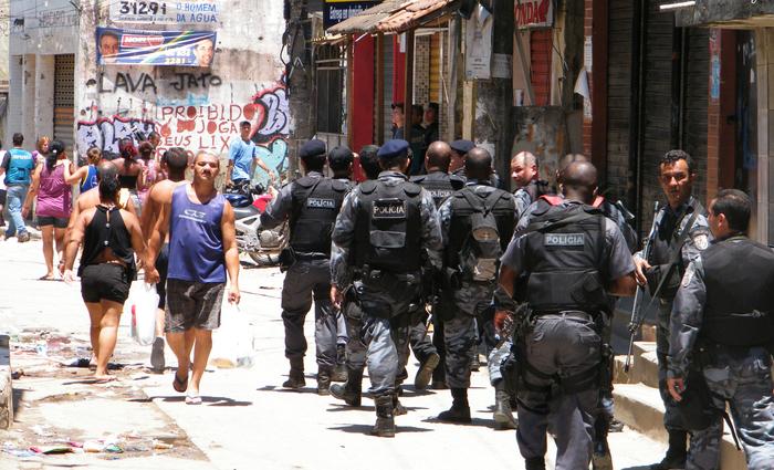 Complexo do Alemão, conjunto de favelas localizado na zona norte do Rio de Janeiro. Foto: Reprodução/Internet