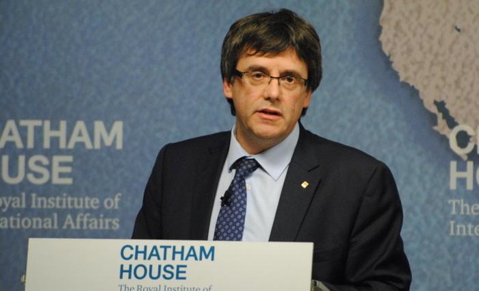 Ex-presidente regional da Catalunha Carles Puigdemont. Foto: Reprodução/Internet