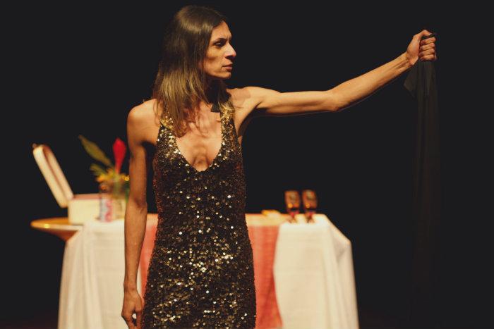 Peça protagonizada pela atriz transexual Renata Carvalho foi retirada da programação. Foto: Divulgação