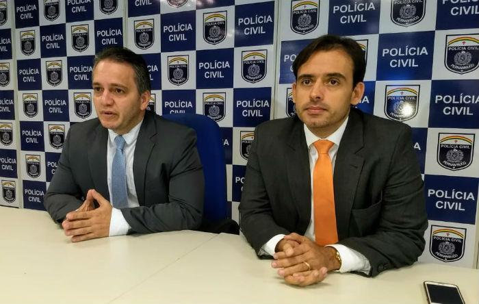 Prisão foi detalhada pela Polícia Civil. Foto: PCPE/Divulgação.