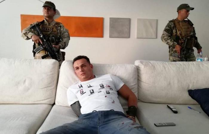 Eduardo Aparecido de Almeida, o Piska, foi acusado de ser um dos responsáveis pelo sequestro da mãe do ex-lateral Kléber. Imagem: Secretaria Nacional Antidrogas do Paraguai / Divulgação