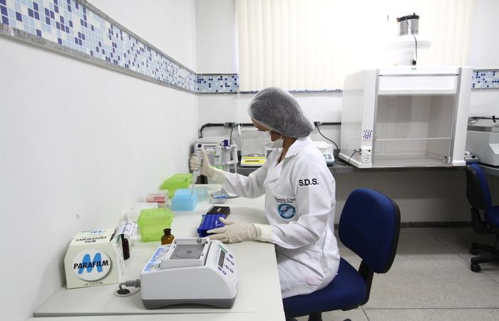 No local, já funcionava laboratório que realizava testes de DNA em vestígios relacionados às investigções. Foto: Alcione Ferreira/DP