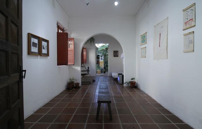 O local é dividido por diversos espaços. Foto: Leo Malafaial/Esp. DP