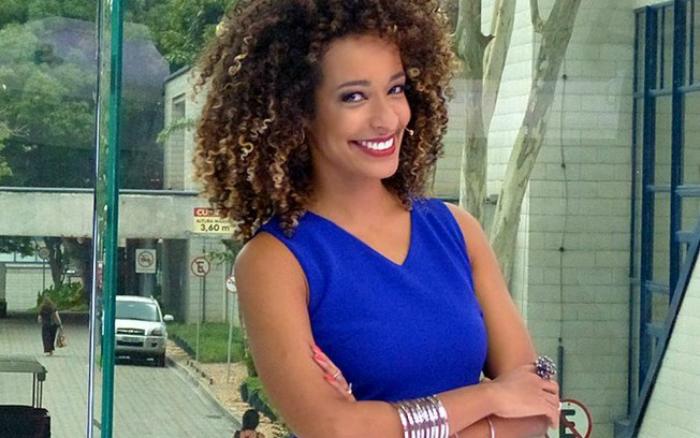 Após a crítica de uma fã pedindo representatividade na emissora, Alinne publicou uma forte resposta. Foto: Globo/Reprodução