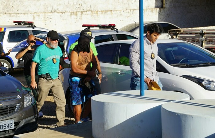 Homem de 49 anos, acusado de abusar de crianças em Serra Talhada. Foto: Polícia Civil/Divulgação