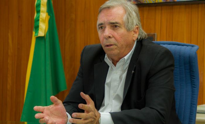 Fábio Alves diz que este ano devem ser concluídos 34 projetos de transmissão de energia. Foto: Leo Malafaia / Esp. DP (Foto: Leo Malafaia / Esp. DP)
