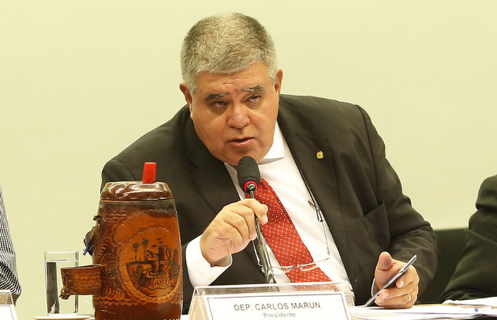 O ministro da Secretaria de Governo, Carlos Marun. Foto: Reprodução/Flickr