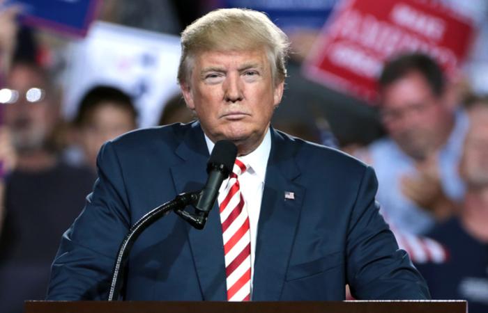 """""""NUNCA MAIS VOLTE A AMEAÇAR OS ESTADOS UNIDOS OU SOFRERÃO CONSEQUÊNCIAS QUE MUITOS POUCOS SOFRERAM AO LONGO DA HISTÓRIA"""", tuitou Trump . Foto: Reprodução/Internet"""