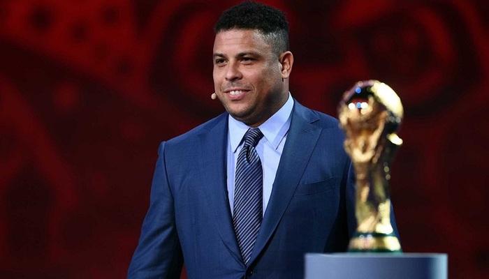 Ronaldo Fenômeno, depois de deixar os gramados, passou a atuar como comentarista esportivo. Foto: Kirill Kudryavtsev/AFP Photo
