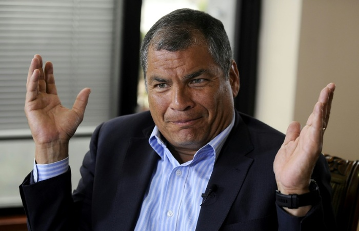Ex-presidente Rafael Correa. Foto: AFP/Arquivos