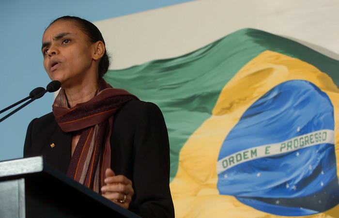 Marina enfrenta dificuldades para atrair outros partidos: presidente do Flamengo é cotado para ser o vice. Foto: Reprodução/Internet