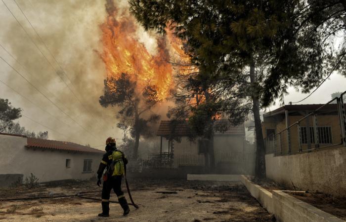 De acordo com números ainda provisórios, os violentos incêndios também deixaram 172 feridos. Fotos: VALERIE GACHE / AFP