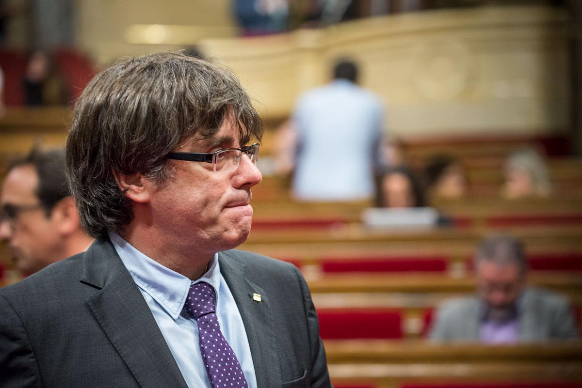 Ele se encontrava na Bélgica, desde final de outubro, país onde se instalou para escapar da ação da Justiça espanhola. Foto: Reprodução/Internet