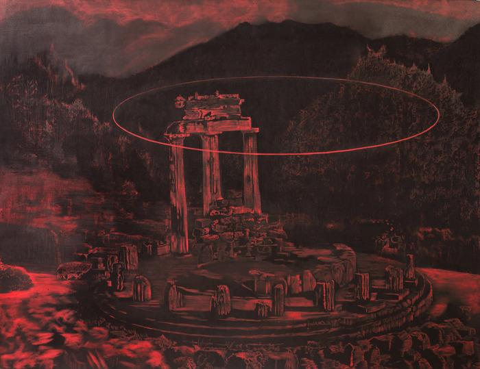 A exposição celebra os 20 anos da carreira do artista e os 20 anos da galeria Amparo, fundada em 1998. Foto: Bruno Vilela/Divulgação