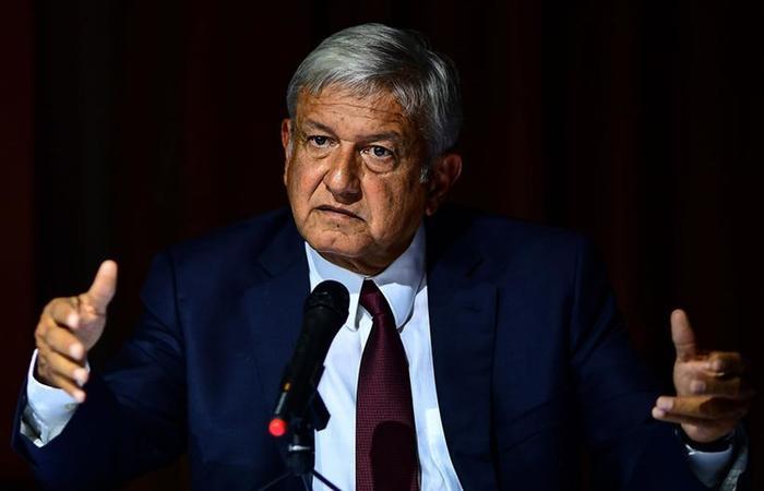 O presidente eleito do México, Andrés Manuel López Obrador Foto: Ronaldo Schemidt/AFP