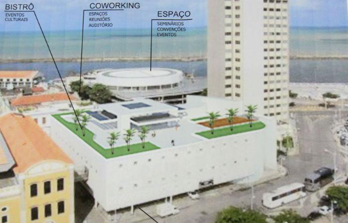 Novo projeto arquitetônico do local onde funcionava a Livraria Cultura Foto: Nando Chiappetta / DP