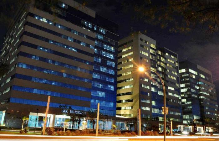 O crime teria ocorrido no edifício Parque Cidade Corporate, na Asa Sul, onde funciona a Secretaria Nacional dos Direitos da Pessoa com Deficiência. Foto: Edilson Rodrigues/CB/D.A Press