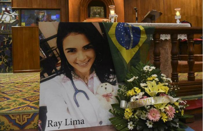 A pernambucana foi fuzilada por supostos paramilitares na madrugada de segunda-feira. Foto: Roberto Fonseca/La Prensa-Nicarágua/Divulgação