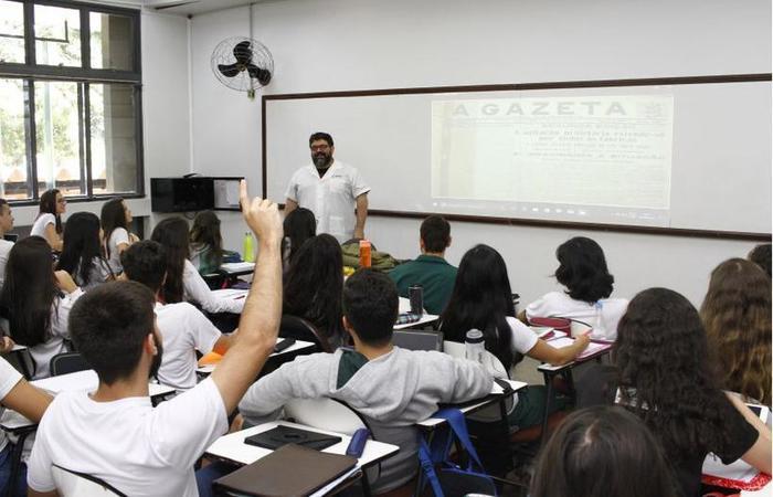 Entre as razões para o desinteresse para atuar na educação básica estão, segundo a pesquisa, os baixos salários (foto: Ana Rayssa/Esp. CB/D.A Press)