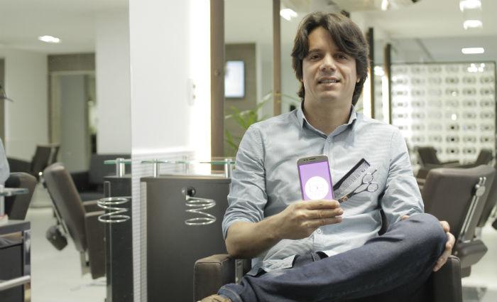 Samuel Ferreira espera aumentar em 500% a base de clientes do Beclub. Foto: Leo Malafaia/Esp. DP